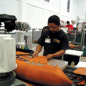 Fabricación de calzado de seguridad 1