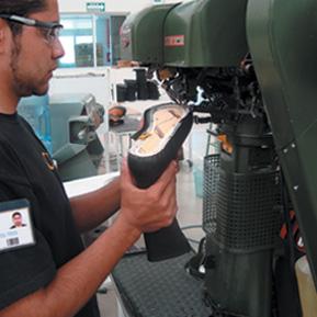 Fabricación de calzado de seguridad 2