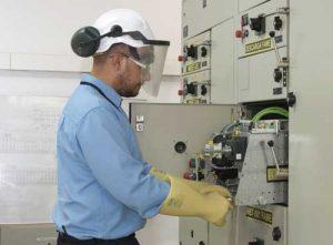 Proteccion trabajos electricos
