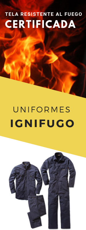 Uniformes resistentes al fuego